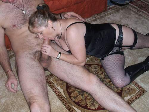 Mature mom trained to fuck son